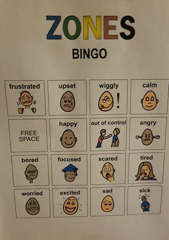 Educational BINGO for kids