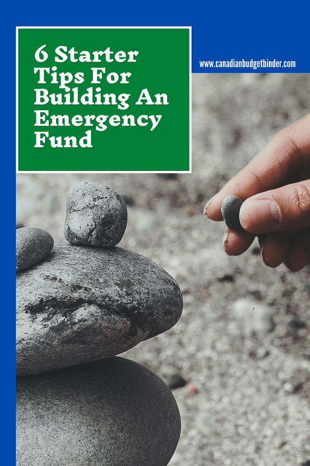 6 Starter Tips For Building Your Emergency Fund : April 2020 Budget Update