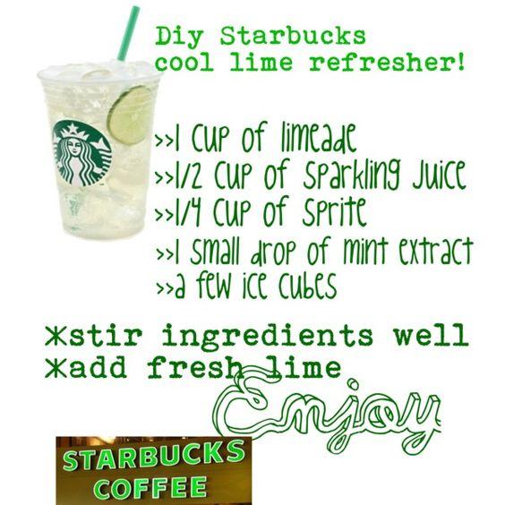 Starbucks Lime Refresher Recipe