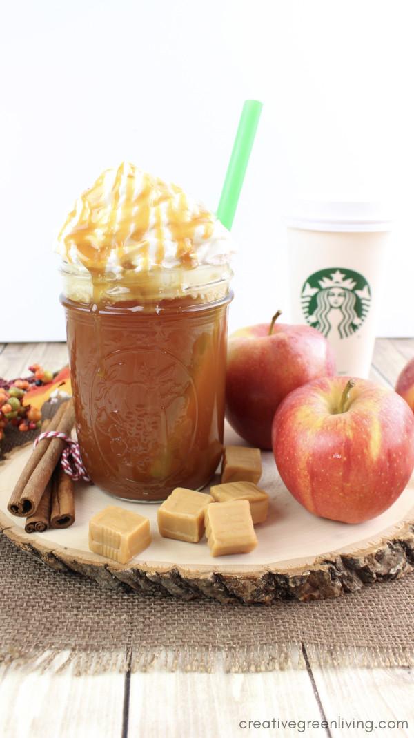 Caramel Apple Frap Starbucks