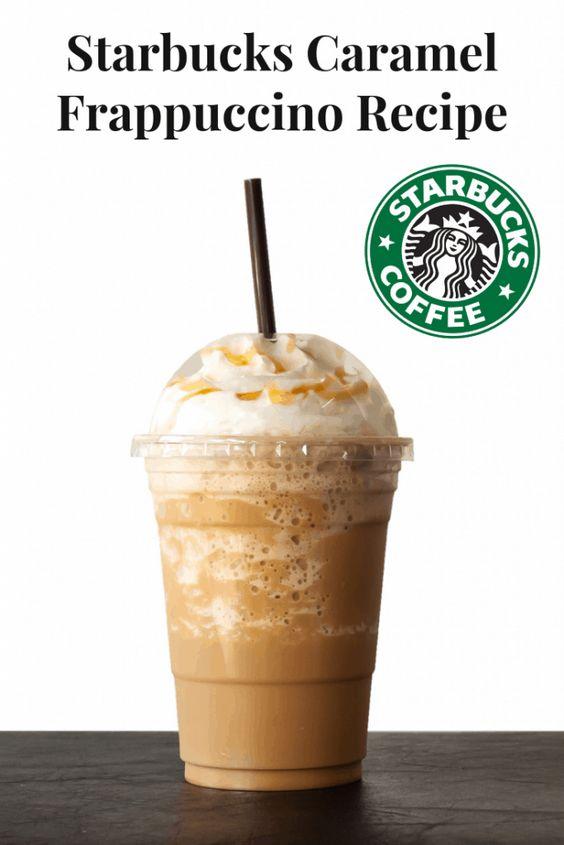 Easy Starbucks Caramel Frappuccino Recipe