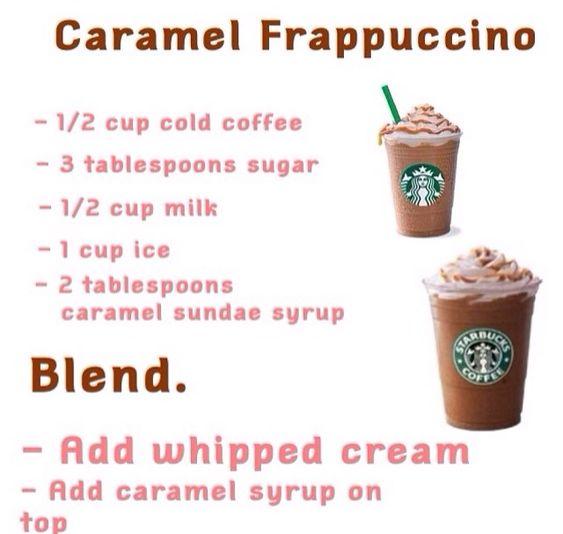 Caramel Frappucino Starbucks