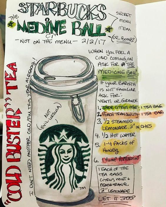 Medicine Ball Tea Starbucks Recipe