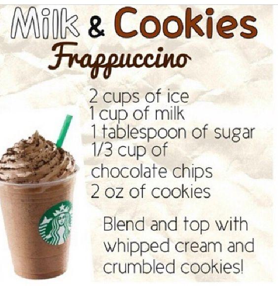 Starbucks Milk and Cookies Frappuccino Copycat drink