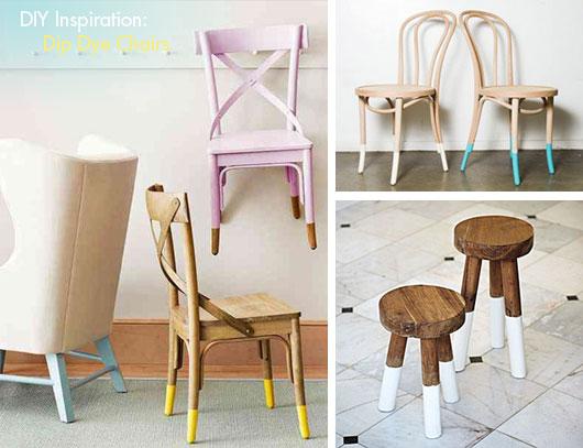 Dip dye furniture
