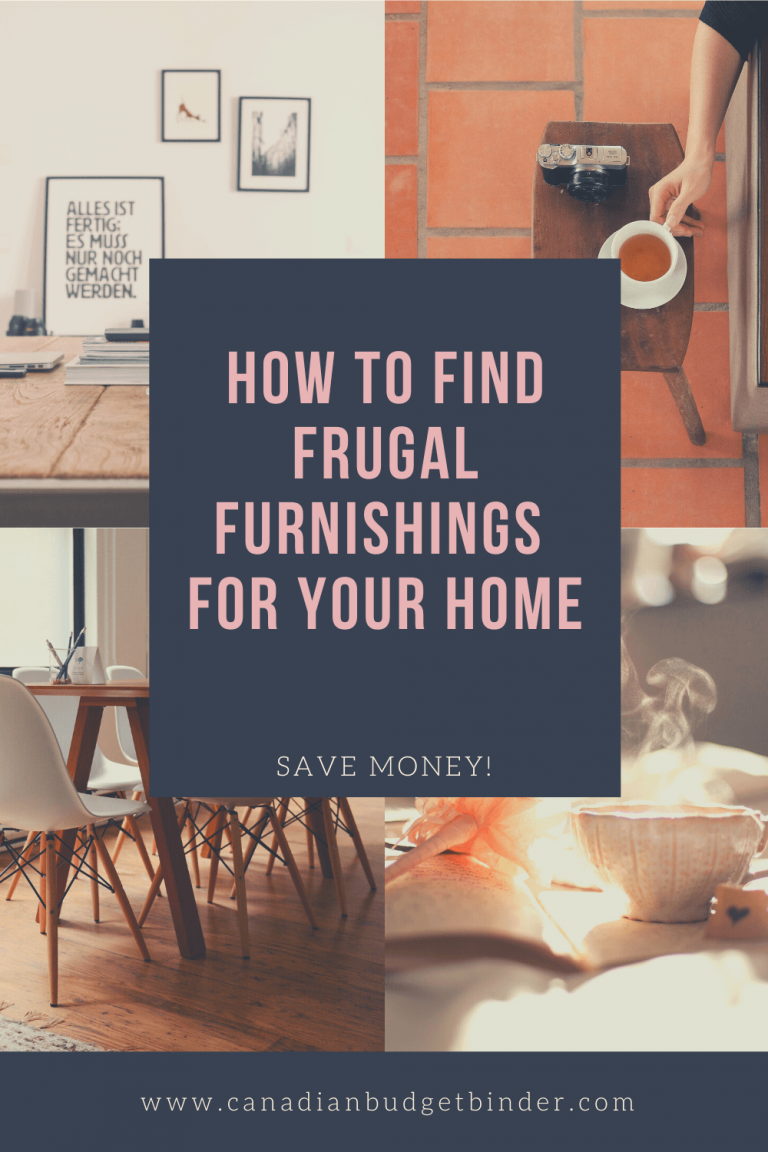 How To Find Cheap Furnishings For Your Home : The Saturday Weekend Review #304