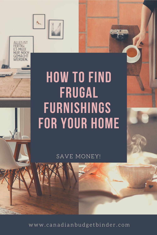 frugal furniture