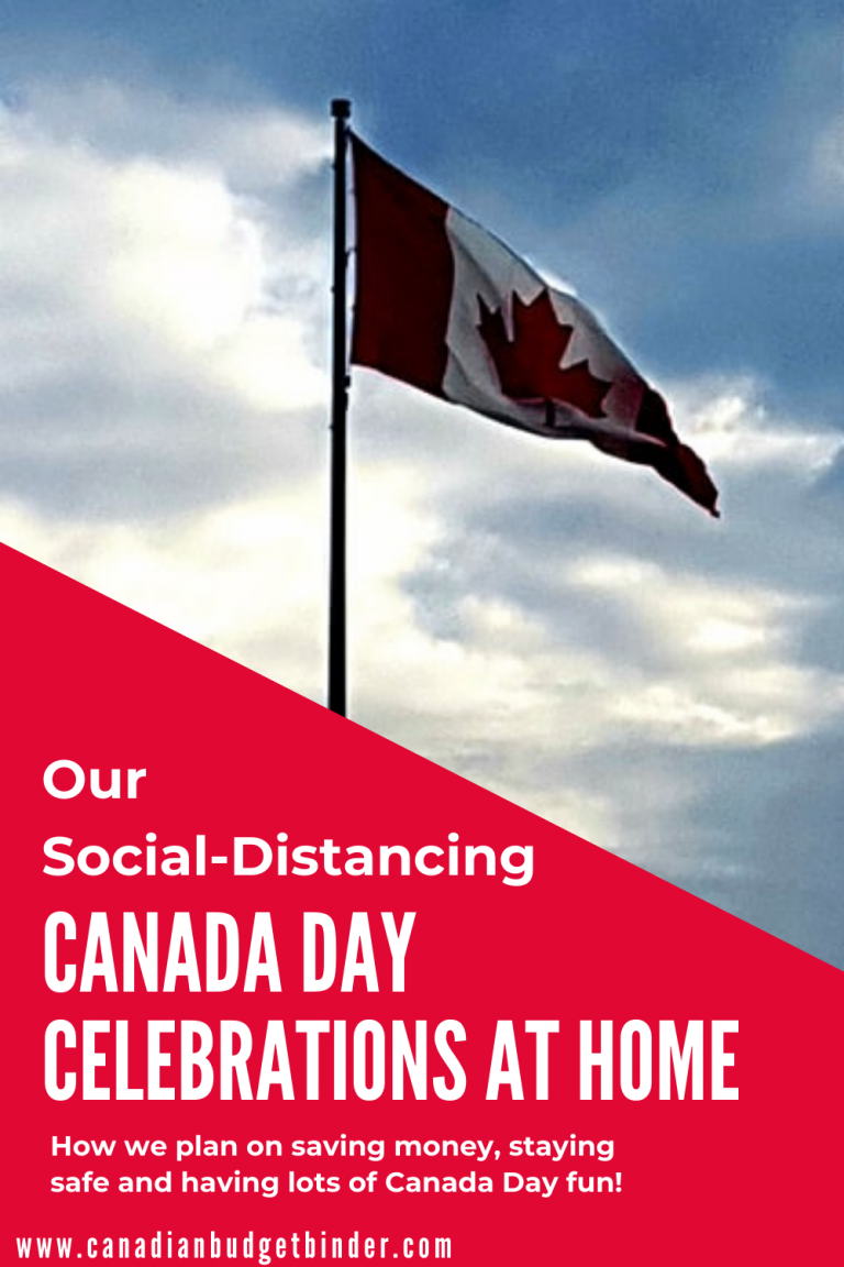 Social Distancing Canada Day Celebrations At Home