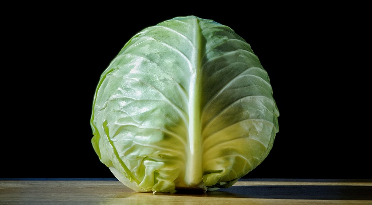 storing green cabbage