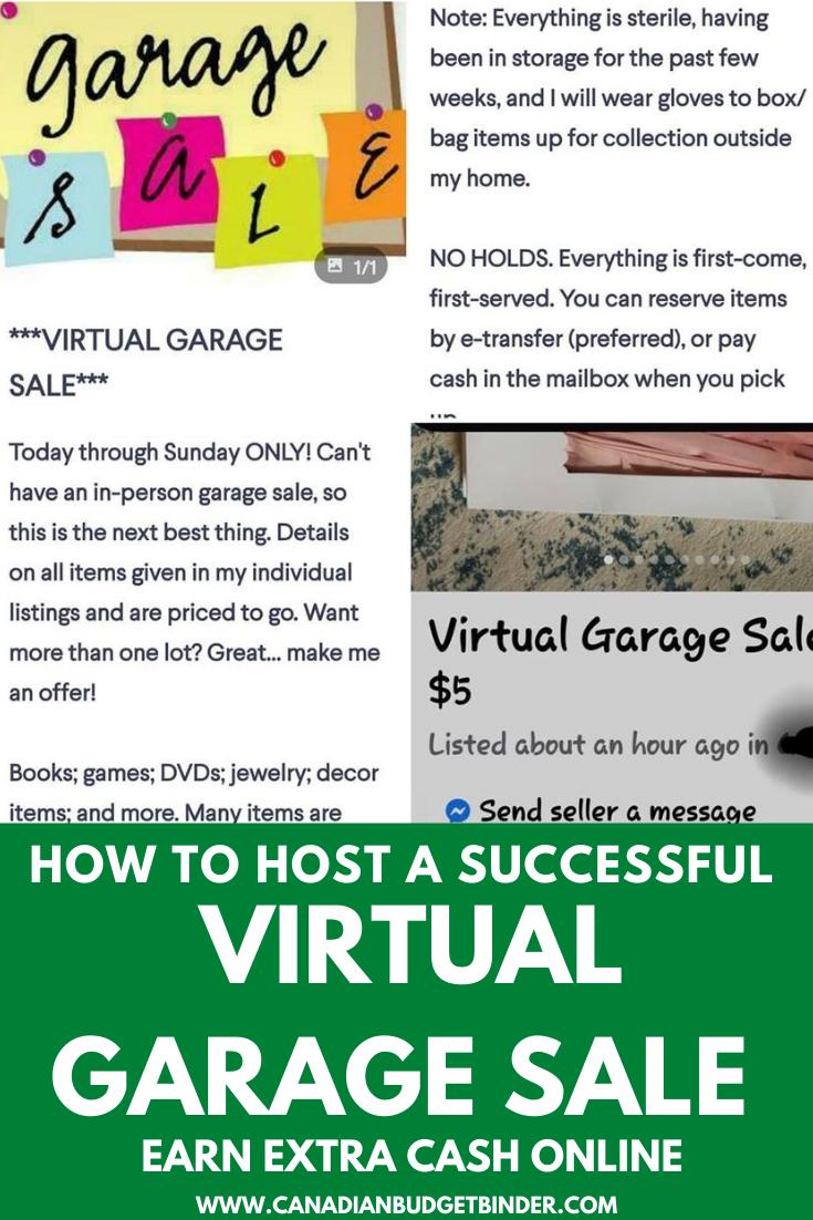 online virtual garage sale