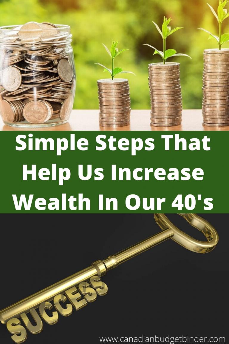 Simple Steps That Help Us Increase Wealth In Our 40's : June 2020 Net Worth Update