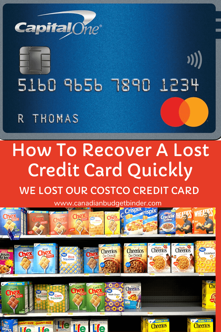 How To Recover A Lost Credit Card Quickly