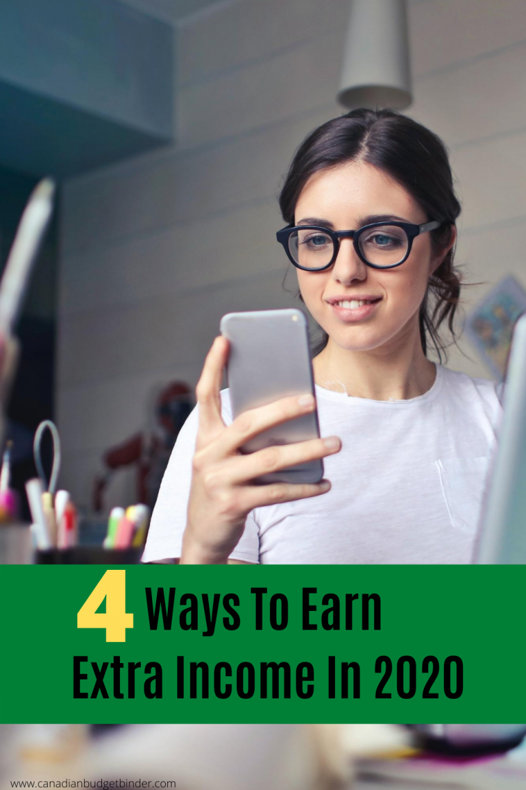 4 Ways To Earn Extra Income In 2020