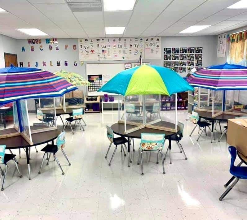 classroom layout idea