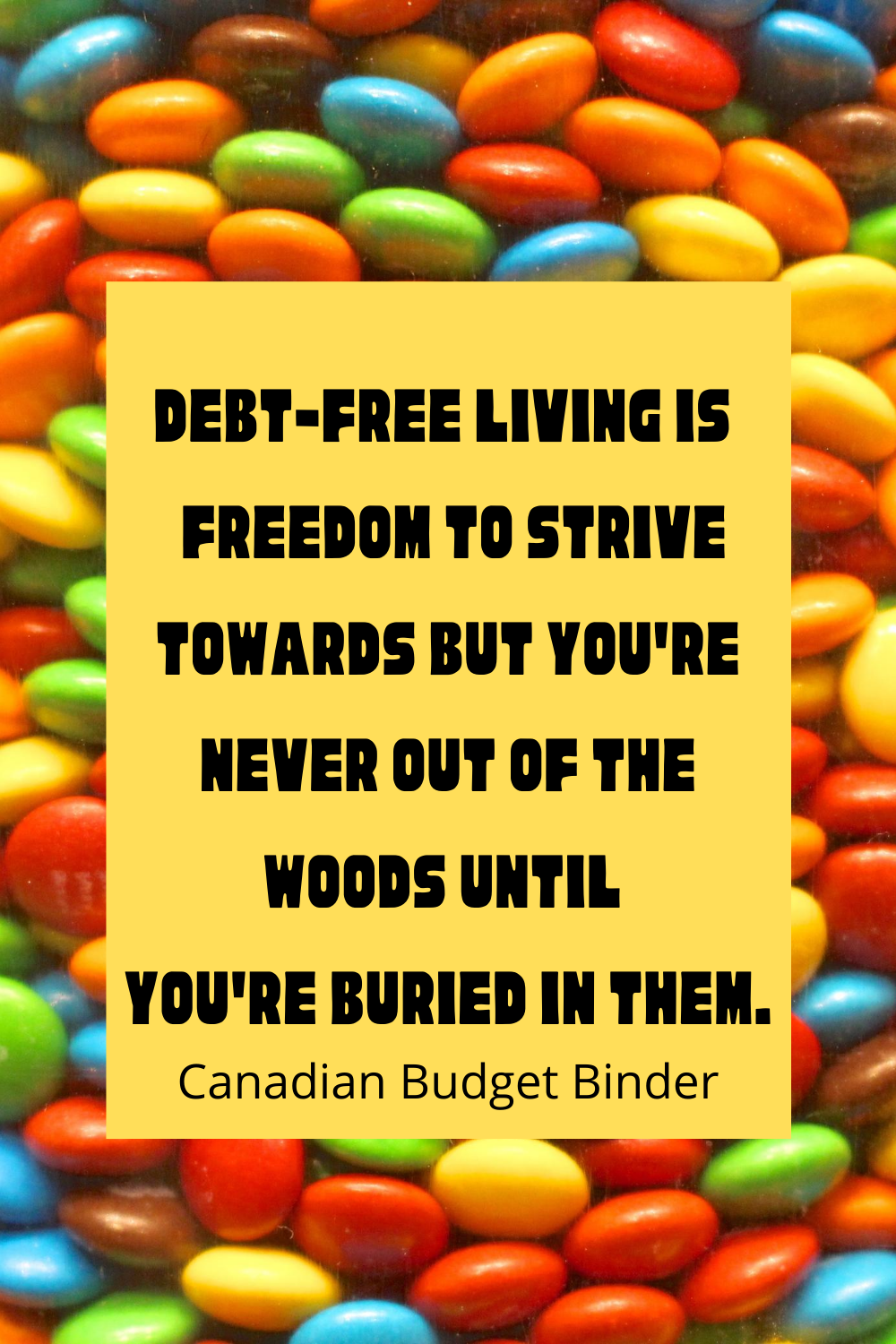 debt free living quotes