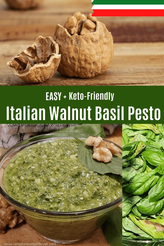 Italian Pesto Recipe