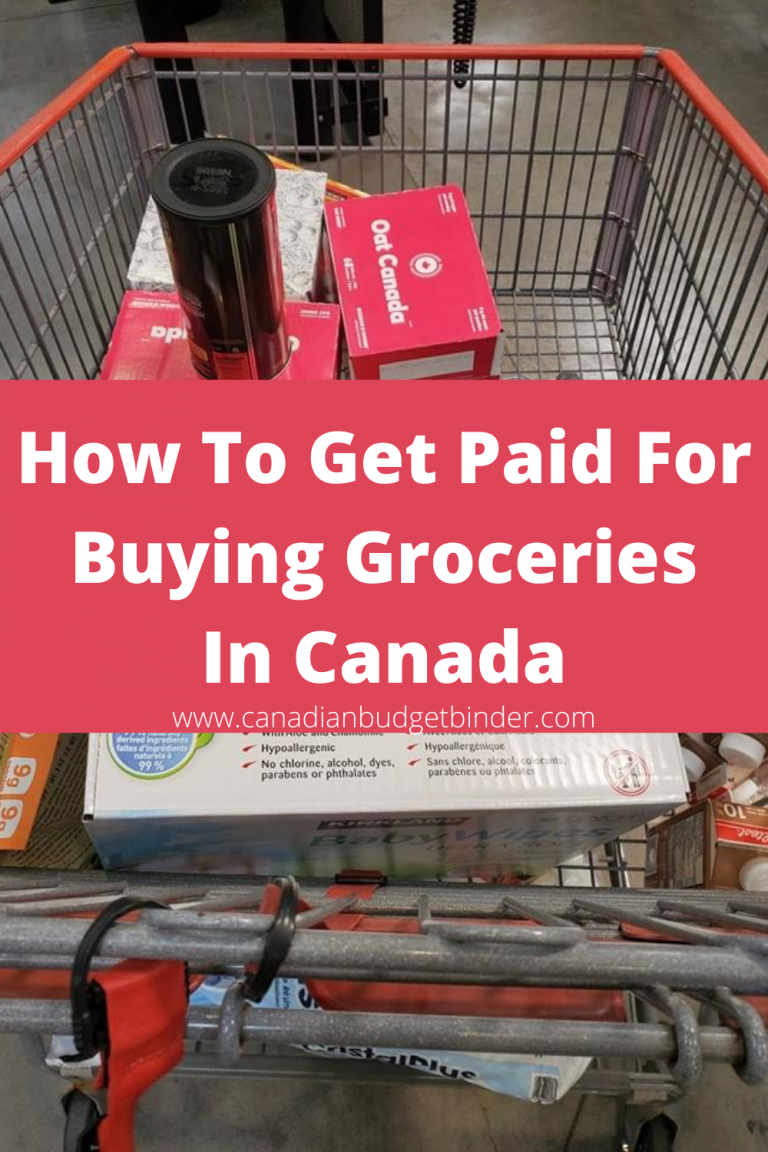 Get Paid For Buying Groceries In Canada