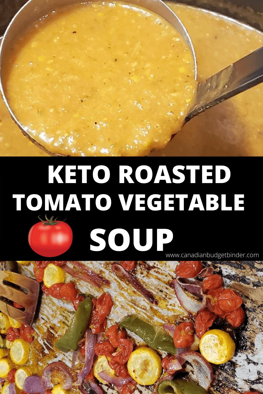 Sopa Quick Keto Tomato