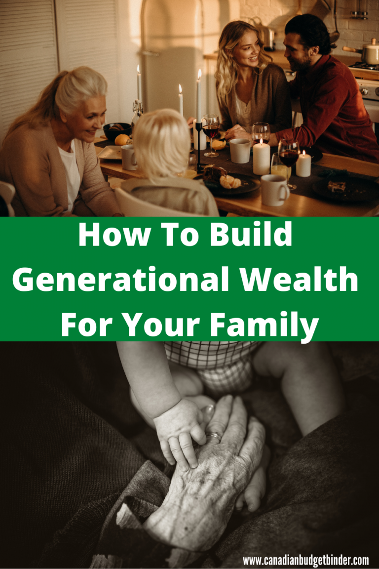 How To Build Generational Wealth For Your Family : August 2020 Net Worth Update