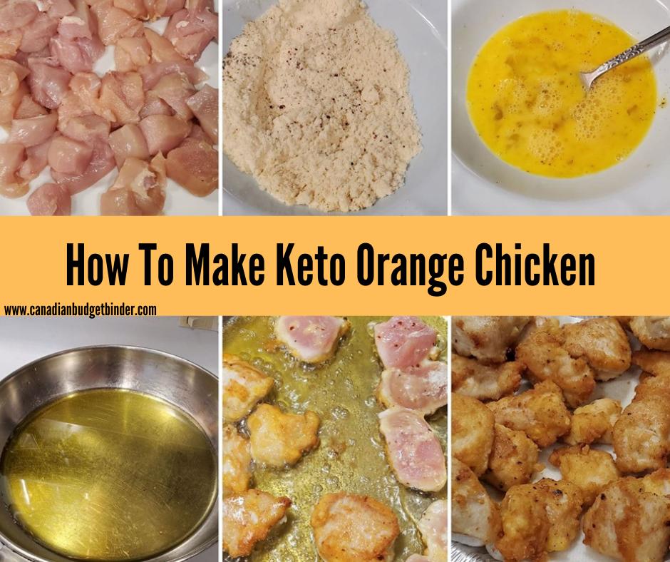 glutenfree orange chicken