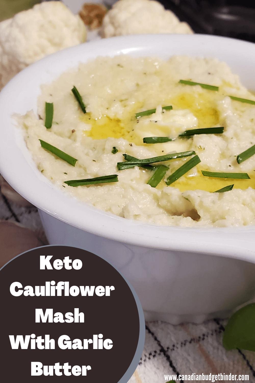 mashed cauliflower keto