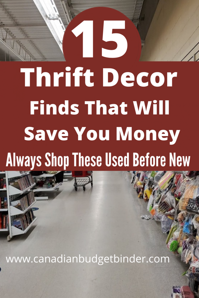 15 Best Thrift Decor Items To Shop For And Save : The Saturday Weekend Review #312