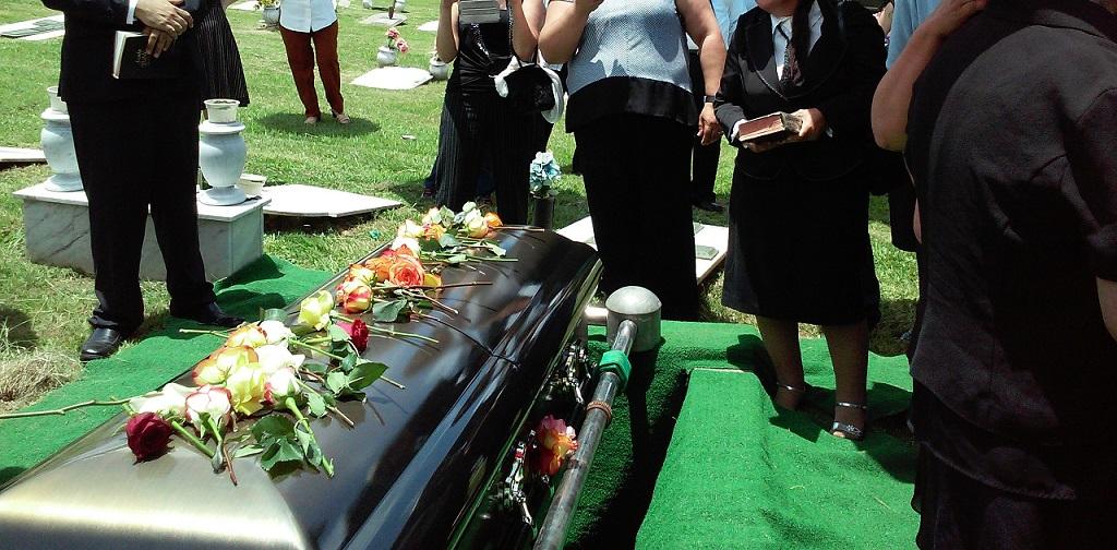 outdoor funeral