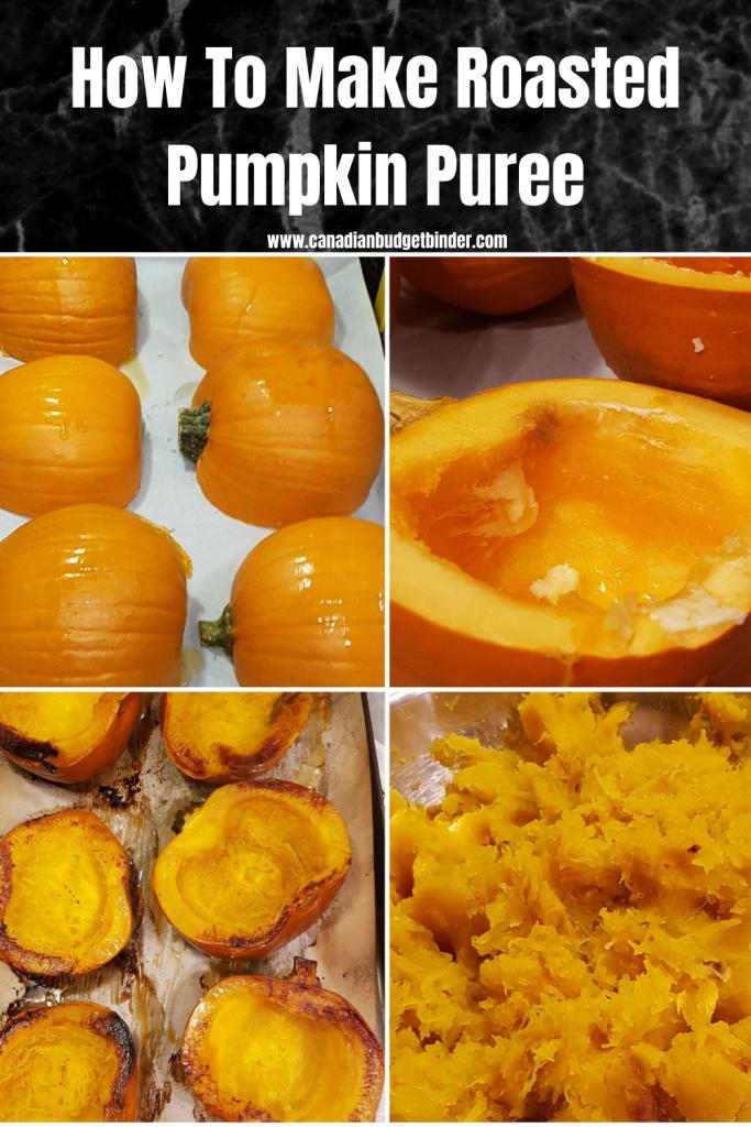 How to make Roasted Pumpkin Puree