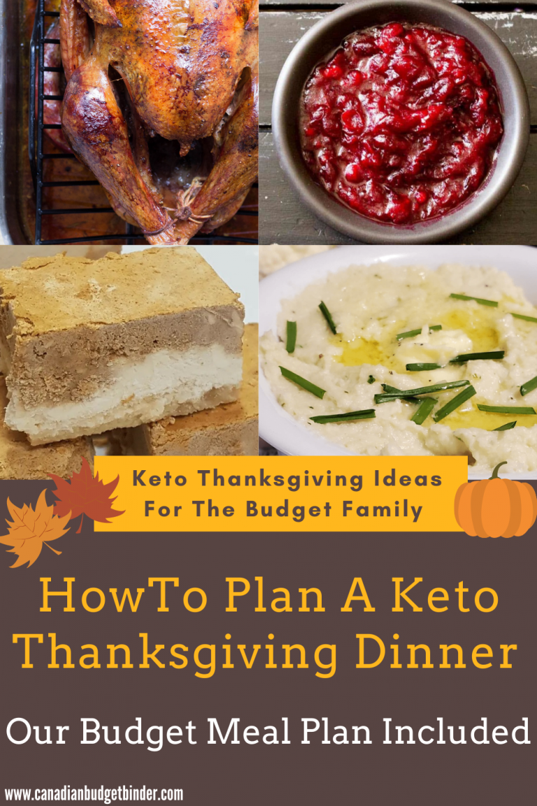 How To Plan A Budget Keto Thanksgiving Meal (With Recipes)