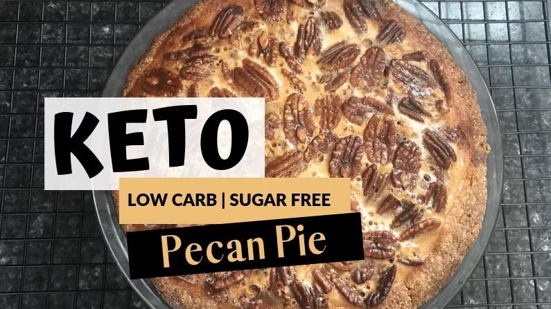 How To Make Keto Pecan Pie