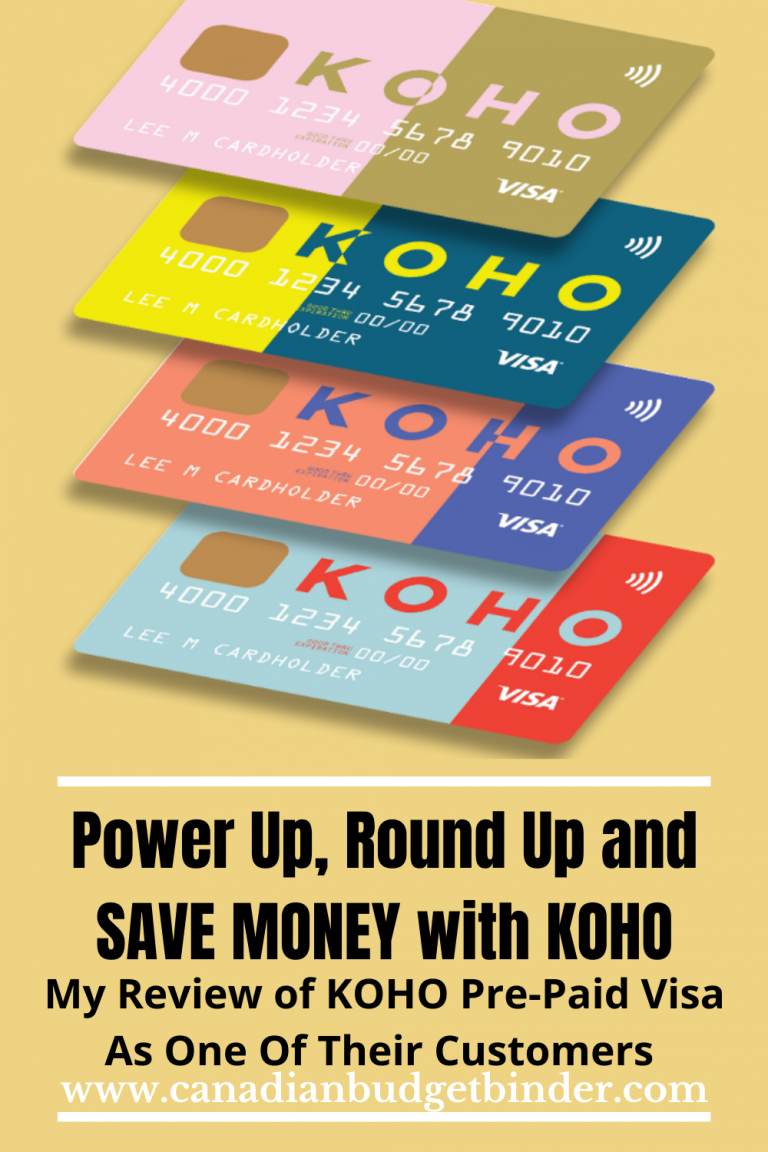 KOHO Review: Fun Ways To Budget, Earn, Save & Educate