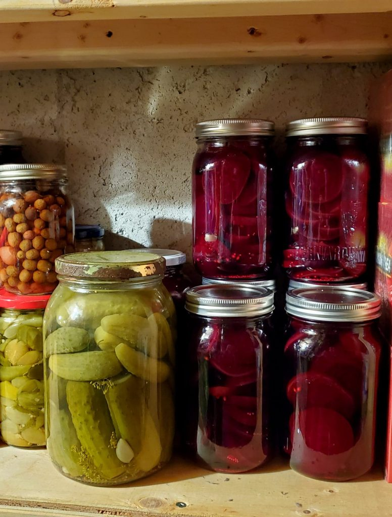 Pickled Beets, Pickles and pickled onions