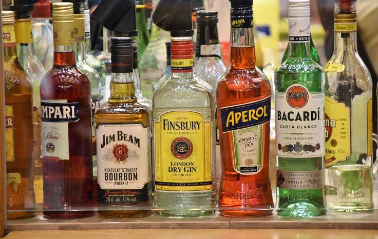 Wedding booze