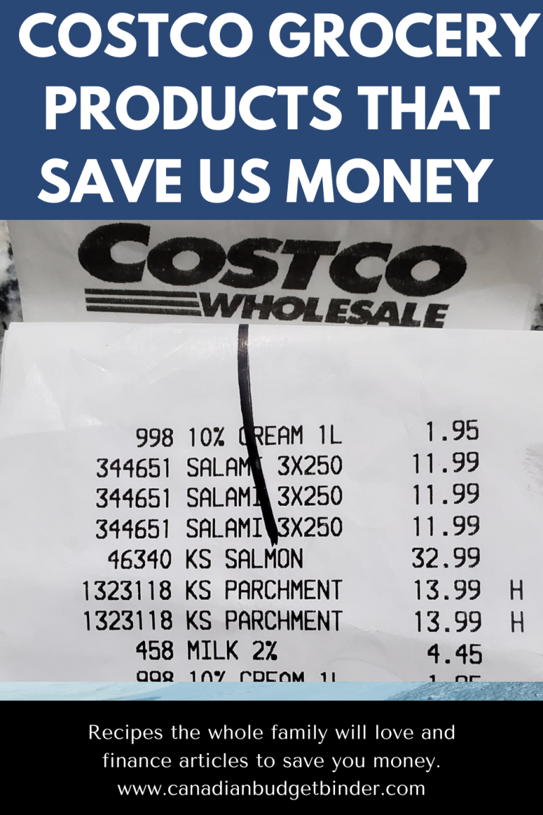 11 Costco Grocery Items We Buy To Save Money (Free Budget Binder Printable Incl.)