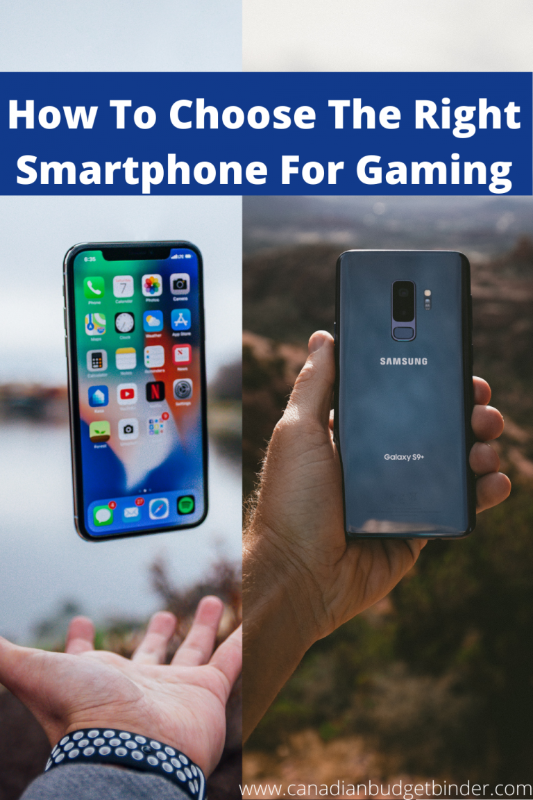 How To Choose The Right Smartphone For Gaming