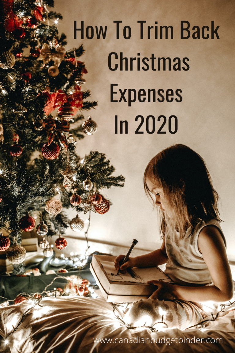 How To Downsize Your Christmas Expenses