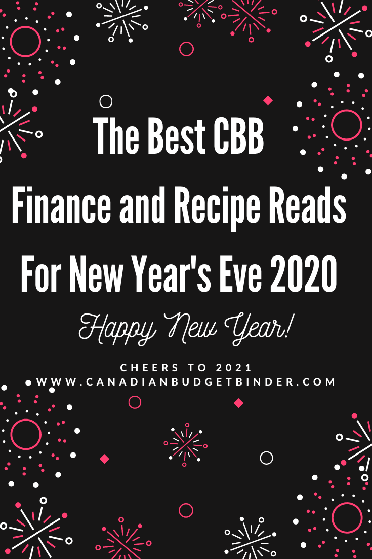 Top CBB Finance and Recipe Reads For New Year's Eve 2020