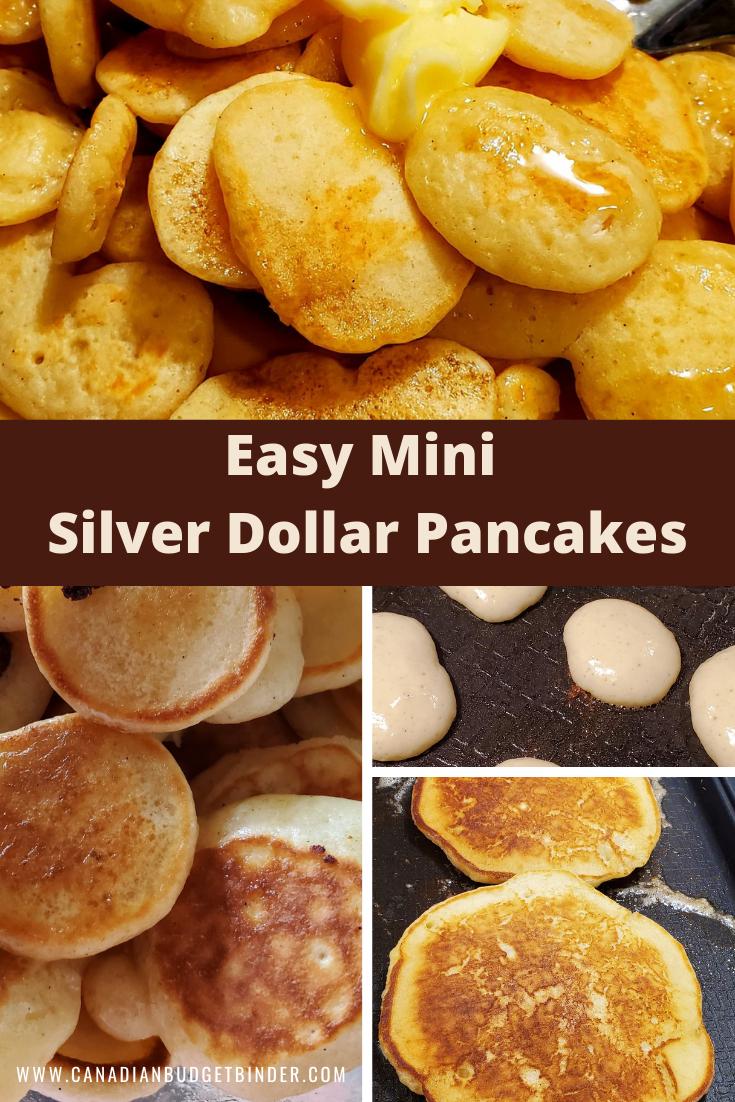 Fluffy Mini Silver Dollar Pancakes