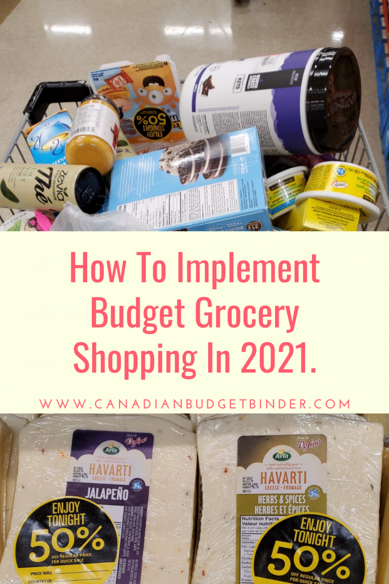 How To Implement Budget Grocery Shopping In 2021
