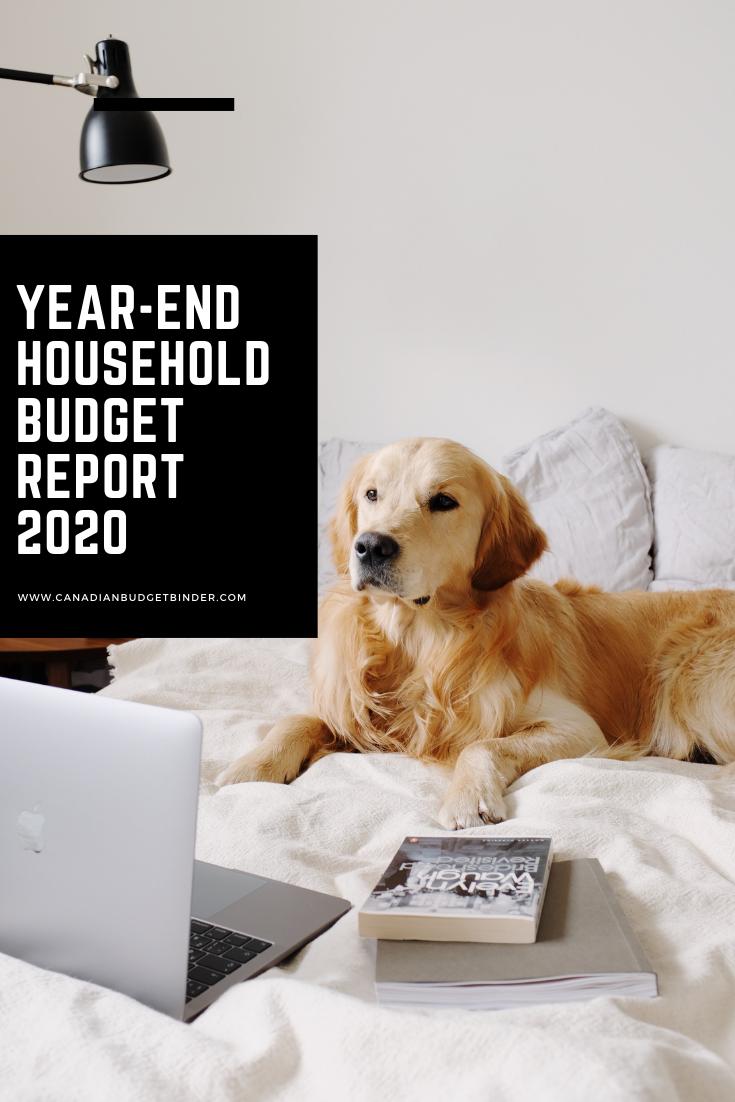 Our 2020 Household Budget Recap : December Recap