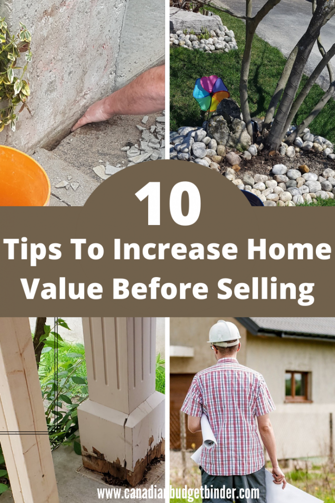 How to increase home value before you put your house up for sale to get maximum return on investment.