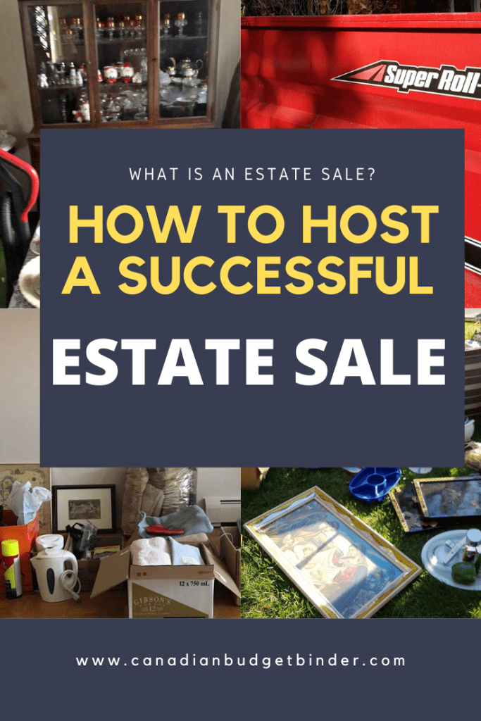 Hosting an estate sale is stressful and adds to the pressure of the reason behind having to do so however there are other options.