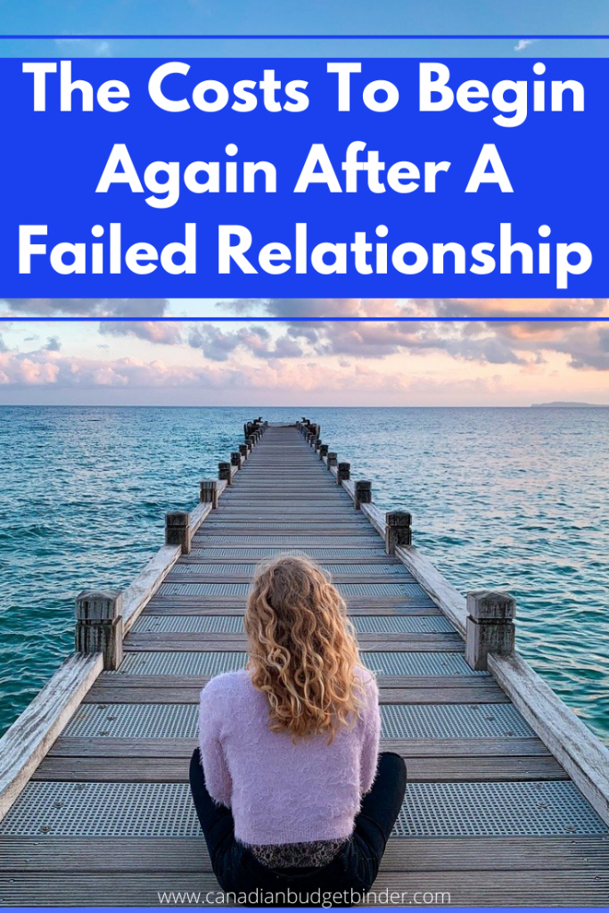 The Costs involved after a failed relationship and having to begin again. As a girl sits on a boat launch by the water she ponders life.