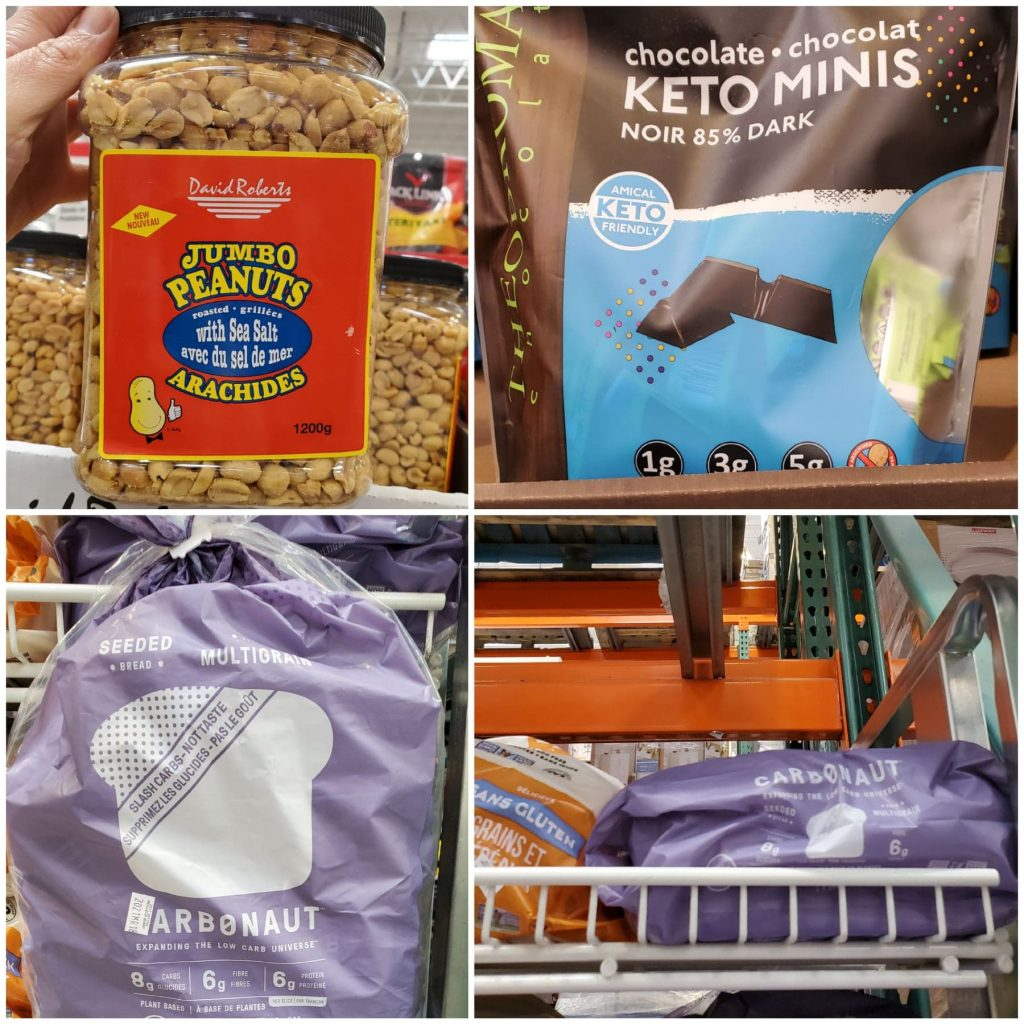 Keto Snacks at Costco Canada and carbonaut bread