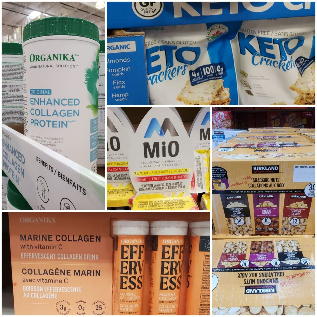 Random Keto approved products at Costco Canada