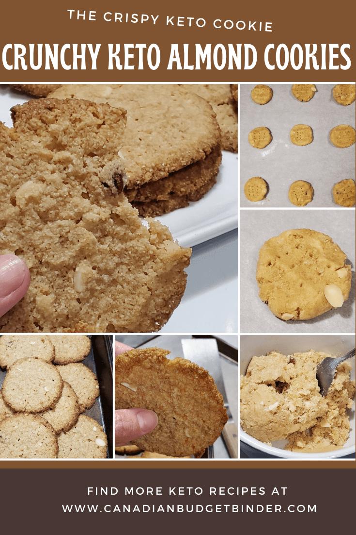 crunchy keto cookies