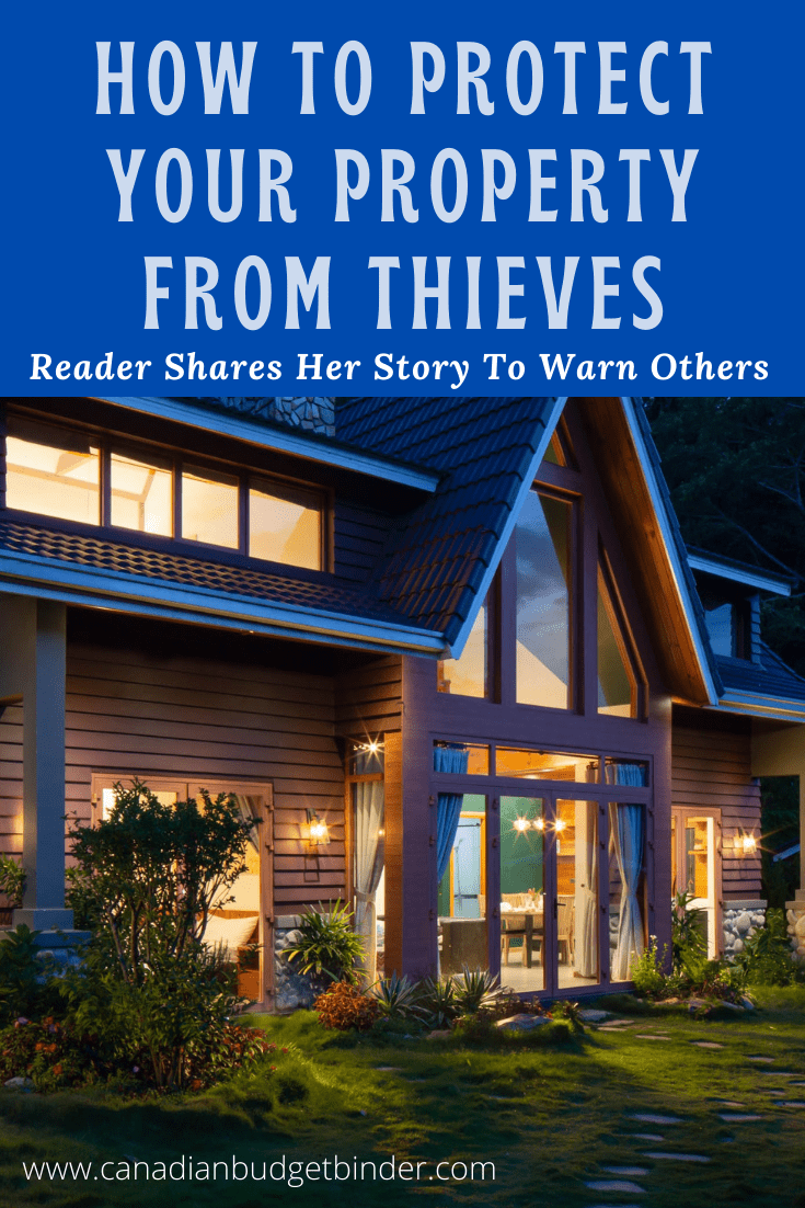 How To Protect Your Property From Thieves