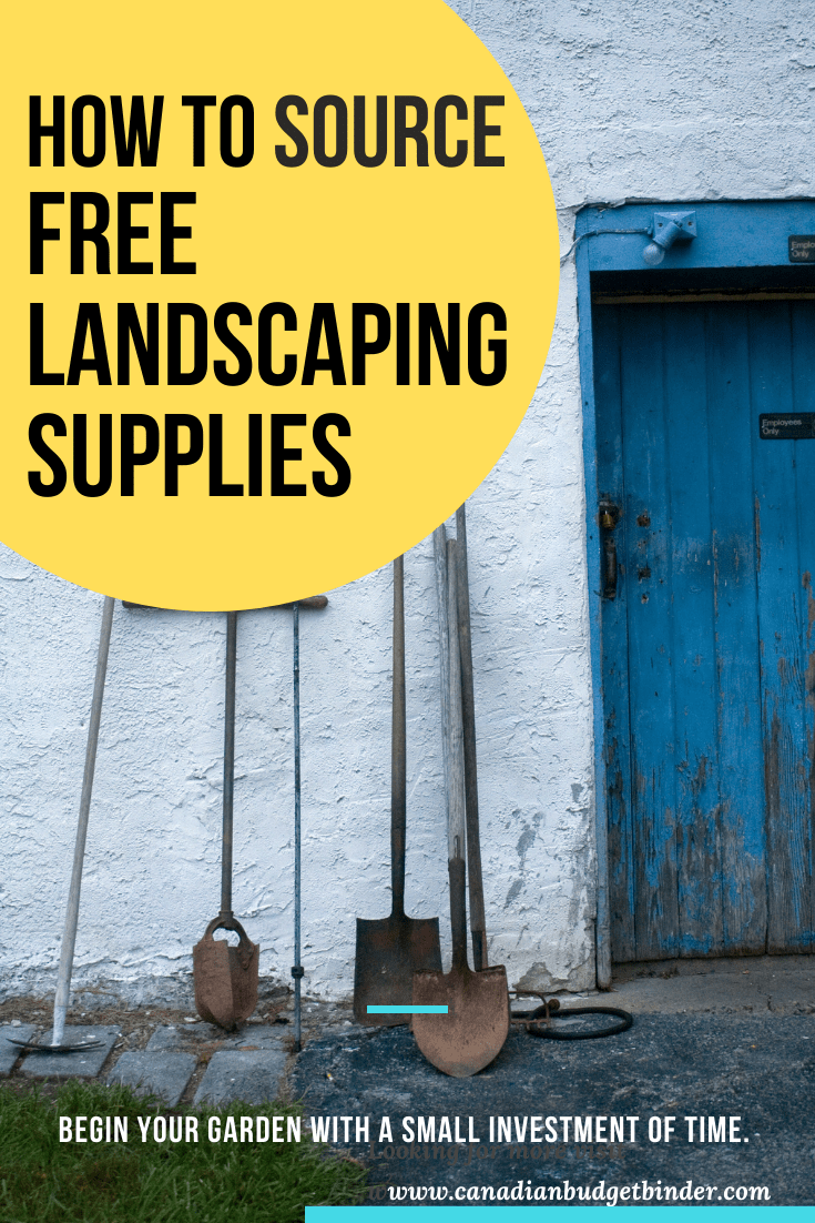 How To Source Free Landscaping Supplies: The Saturday Weekend Review #326