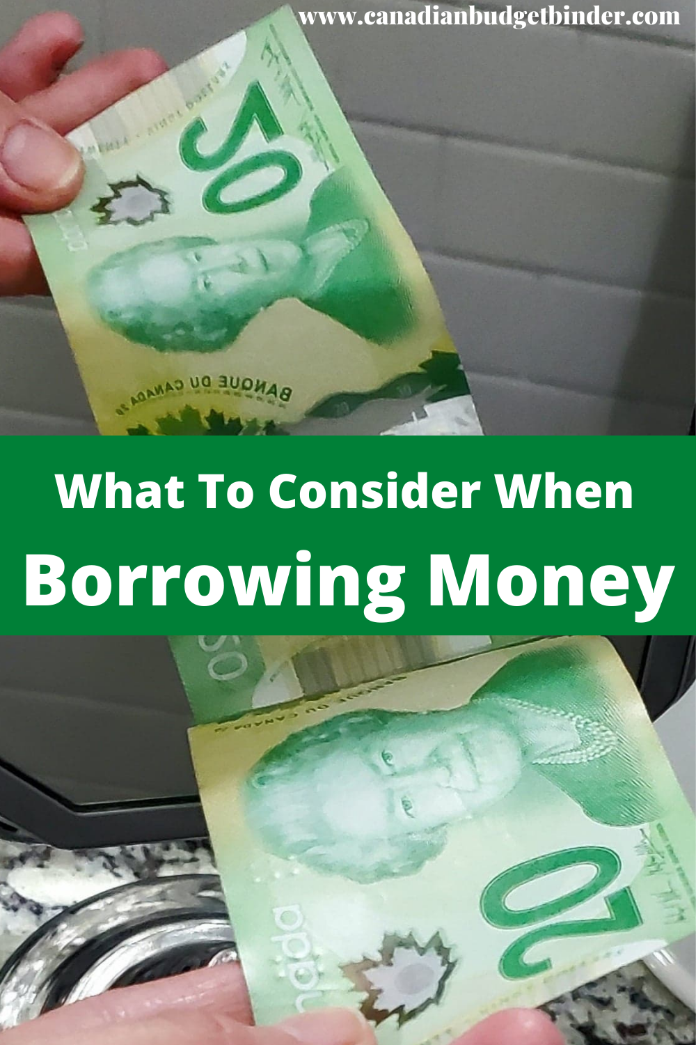 What to Consider Before Borrowing Money
