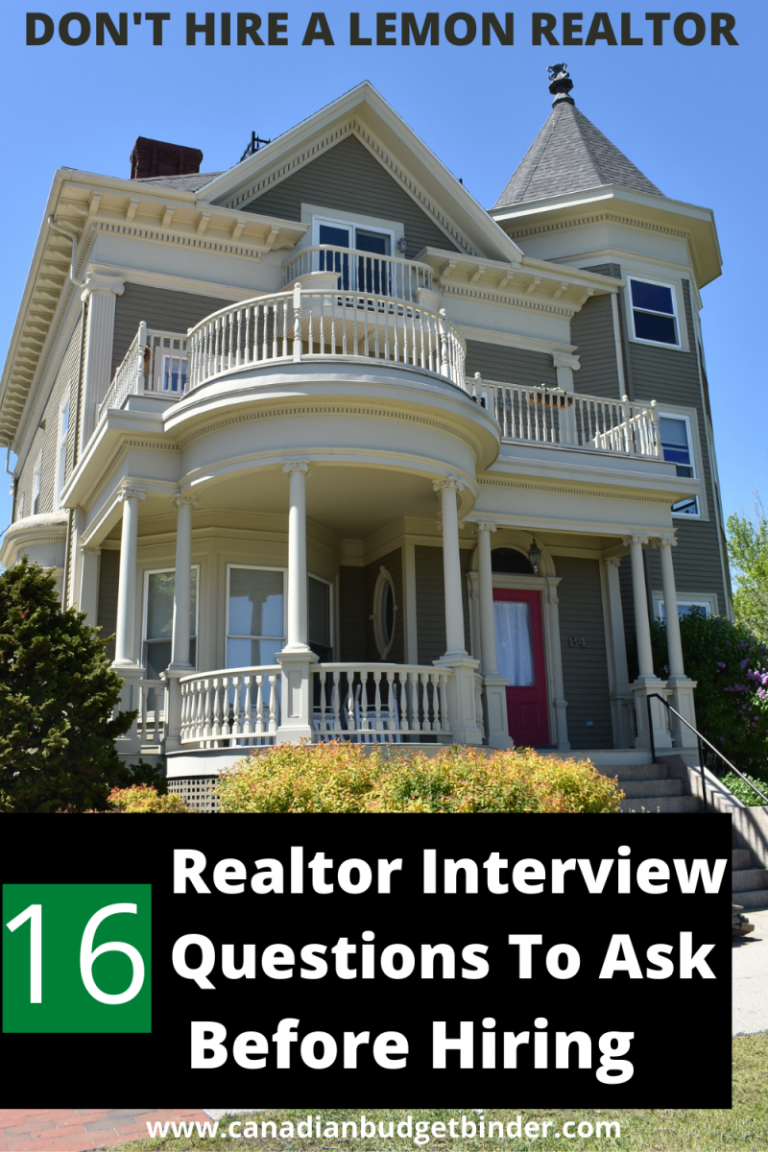 16 Realtor Interview Questions Before Hiring